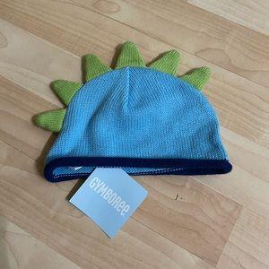 NWT Gymboree Boys Dinosaur Spike Hat 0-3 M
